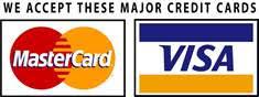 Mi Casa accepts Visa & Mastercard